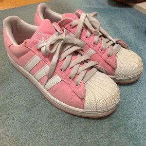 Adidas Pink Superstar